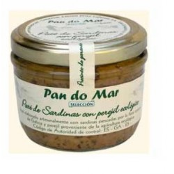 Paté de Sardinas con perejil (Pan do mar)